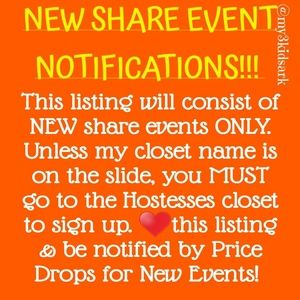 🆕️ EVENT 🆕 NEW LISTING!! PLEASE UNLIKE OLD!
